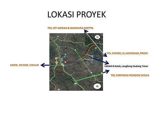 Iklan Towhouse baru lokasi kawasan Nusa Loka Belakang ...